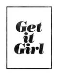 Get It Girl Arte por Brett Wilson