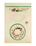 Sketch for a Cup and Saucer, 1920 Giclée-Druck von Wassily Kandinsky