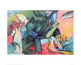 Improvisation No.4 Giclee Print by Wassily Kandinsky