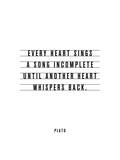 Every Heart Sings A Song Incomplete Poster di Brett Wilson