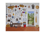 Everything in its Place Giclee Print by Rebecca Campbell