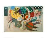 Dominant Curve, 1936 Lámina giclée por Wassily Kandinsky