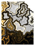 Sedona In Gold Print by Khristian Howell