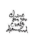Shine On You Crazy Diamond Póster por Brett Wilson
