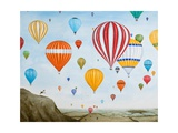 Hot Air Rises, 2012 Giclee Print by Rebecca Campbell