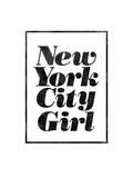 New York City Girl Stampe di Brett Wilson