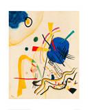 Untitled, 1921 Gicléetryck av Wassily Kandinsky