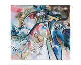 Improvisation 21 A, 1911 Impressão giclée por Wassily Kandinsky