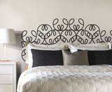 notNeutral Ribbon Headboard Peel and Stick Giant Wall Decals Autocollant mural