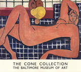 Large Reclining Nude Samlarprint av Henri Matisse