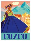 Cuzco, Peru - Machu Picchu Poster von  Agostinelli