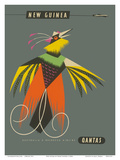 New Guinea - Raggiana Bird of Paradise Posters par Harry Rogers