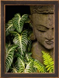 Statue in a Garden Location Information: Chiang Mai, Thailand Impressão fotográfica emoldurada por Bruno Ehrs
