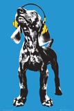 Keith Kimberlin - Weimaraner Pop Art Poster van Keith Kimberlin