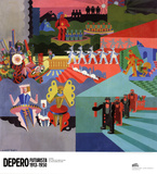 I Miei Balli Plastici Affischer av Fortunato Depero