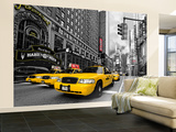 Times Square Wallpaper Mural Tapettijuliste