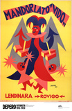 Mandorlato Vito Posters av Fortunato Depero
