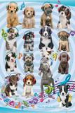Keith Kimberlin Puppies Headphones 2 Poster von Keith Kimberlin