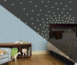 Glow in the Dark Dots Peel and Stick Wall Decals Autocollant mural
