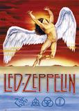 レッド・ツェッペリン - 白鳥の歌 ポスター