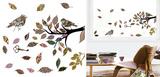 Retro Bird (Window Decal) Vinduessticker