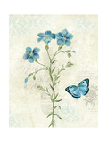 Booked Blue III Crop Posters av Katie Pertiet