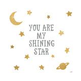 Shining Star Poster por Moira Hershey