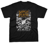Napalm Death - From Enslavement To Obliteration - Vintage Camiseta