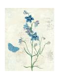 Booked Blue II Crop Posters av Katie Pertiet