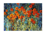 Close Up Garden I Giclee Print by Tim O'toole