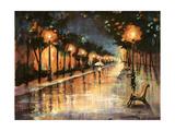 Halos In The Rain Giclee Print by Farrell Douglass