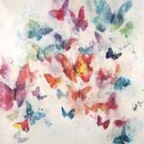Flutterby Wisps Lámina giclée por Farrell Douglass