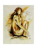 Golden Girl II Reproduction procédé giclée par Farrell Douglass