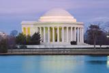Jefferson Memorial Photographic Print by Tim Mainiero