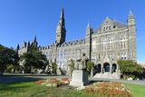 Georgetown University Main Building in Washington DC - United States Photographic Print by  Orhan