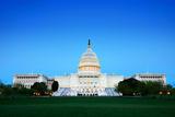 Capitol Hill Building at Dusk, Washington Dc. Reproduction photographique par Songquan Deng