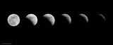 Eclipse lunaire Affiche