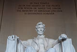 The Statue of Abraham Lincoln Photographic Print by  Tarch