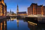 Hamburg- Speicherstadt. Fotografisk trykk av  rudi1976