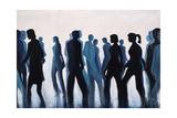 Blue Monday Giclée-tryk af Farrell Douglass