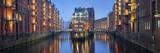 Speicherstadt Hamburg. Fotografisk trykk av  rudi1976