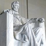 Abraham Lincoln Statue, Lincoln Memorial, Washington Dc, USA Photographic Print by robert cicchetti