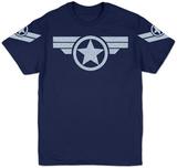 Marvel - Super Soldier Uniform (Silver) T-skjorte