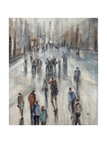 Mall Walking Giclee Print by Farrell Douglass