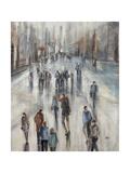 Mall Walking Giclee Print by Farrell Douglass
