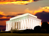 The Lincoln Memorial in Washington Dc Photographic Print by  Gary718