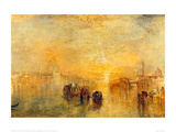 Going to the Ball, Venice, 1846 Giclee Print by J. M. W. Turner