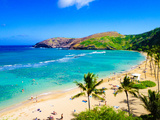 Hanauma Bay, the Best Place for Snorkeling in Oahu,Hawaii Photographic Print by  lorcel