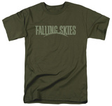 Falling Skies - Distressed Logo Shirts