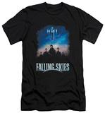 Falling Skies - Main Players (slim fit) T-shirts